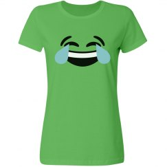 Laughing Hard Emoji Costume