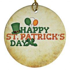 Saint Patricks Day Ornament