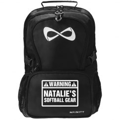 Stinky Softball Backpack Funny Black Nfinity Backpack