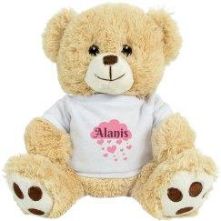 Alanis Valentine Bear