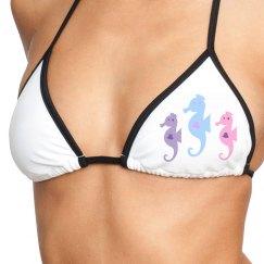 Sea Dragons Bikini Top