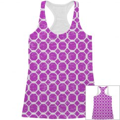 All Over Print Pattern Tank Top for Her