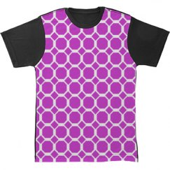All Over Print Pattern Tshirt for Her