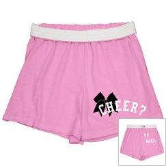 Cheer or nahh? Shorts
