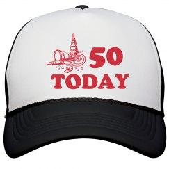 50 Today Peak Cap