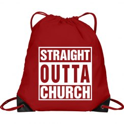 Straight Outta Church Bag