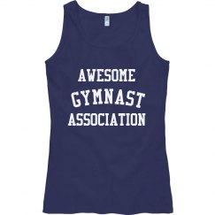 Awesome gymnast