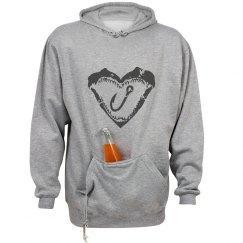 Shark Fishing Sweatshirt-unisex