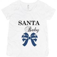 Christmas Maternity Top