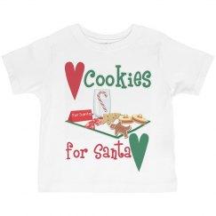 Cookies for Santa Tee