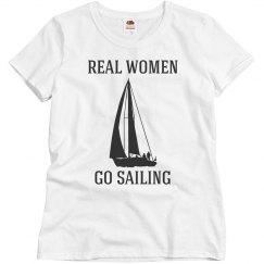 Real women go sailing