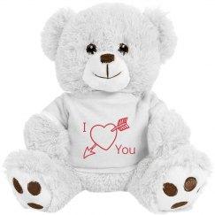 Arrow Heart Bear
