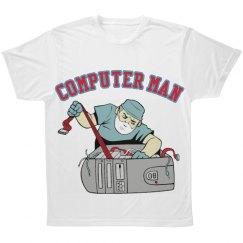 Computer Man Tee Shirt