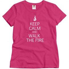 Walk the fire