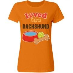 Dachshund Dog Lover Gift T-shirt