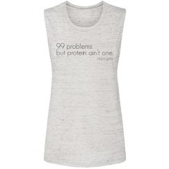 99 problems muscle tank top