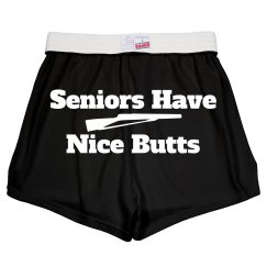 Color Guard Seniors Nice Butts Funny Wordplay Shorts