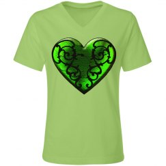 Goth St. Patrick's Heart