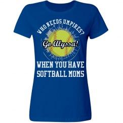 Softball Mom Umpire