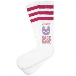 Easter 5k Fun Run Custom Socks