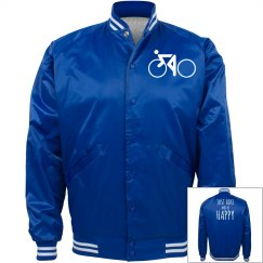 just bike and be happy jacket