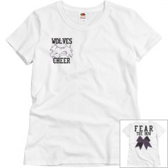 Wolves cheer-fear the bow