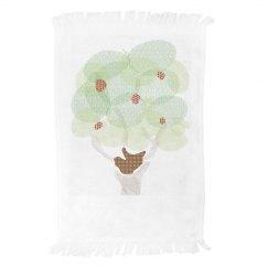 Patchwork Tree Towel
