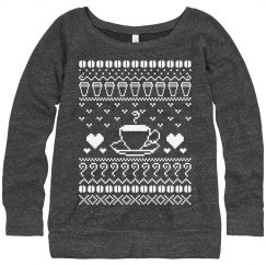Ugly Coffee Sweater