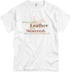 Reining Horse: Scarred Leather