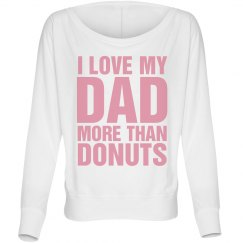 Love You Dad Donuts