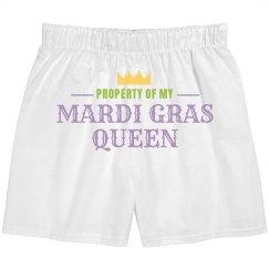 Property Of My Mardi Gras Queen
