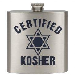 Certified Kosher Flask