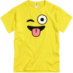 Emoji Costume Winking Smile
