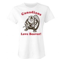 Canadians Love Beaver