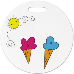 Kids Summer Luggage Tag