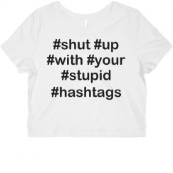 I Hate Hashtags