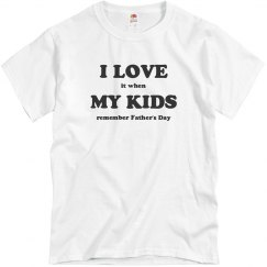 Remember Father's Day