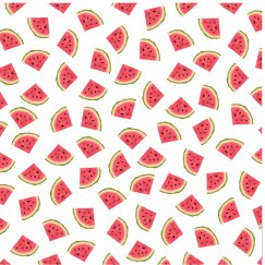 Sporty Watermelons All Over Print