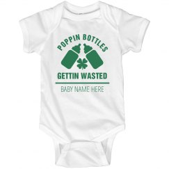 St. Patrick's Baby Poppin Bottles