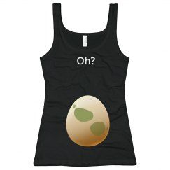 Oh? Go Hatch An Egg Tank Maternity Shirt