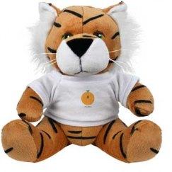 Nu-Dition Stuffed Tiger