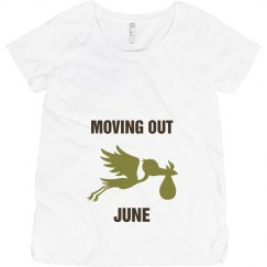 Moving out June