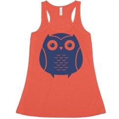 Owl Crop Top