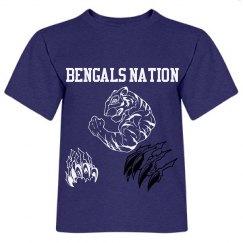 Toddlers Bengals Nation Shirt