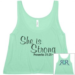 RR: she is strong