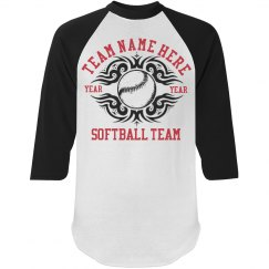 Softball Team Fan
