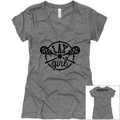 Custom Lax Girl Long-Sleeve Shirt