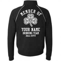 Member of Irish Drinking Team