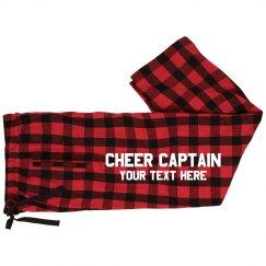 Football Cheer Captain