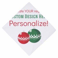 Custom Christmas Dog